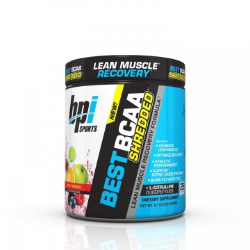 BPI Sports Best BCAA Shredded for Lean Muscle Growth