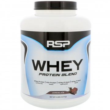 RSP Nutrition  Whey Protein Blend  Chocolate 4 lbs (1.81 kg)