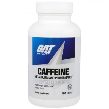 GAT Caffeine Metabolism and Performance Essentials 100 Tablets