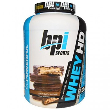 BPI Sports Whey-Hd Ultra Premium Protein Chocolate - 4.2 Lbs