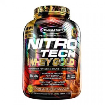 Muscletech Nitrotech 100% Whey Gold 5.5 lbs