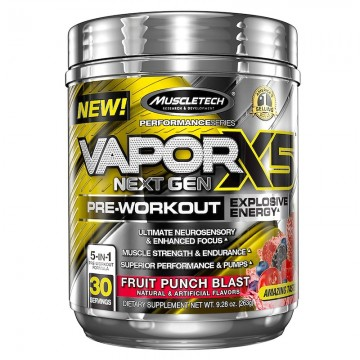 Muscletech VaporX5 Next Gen Pre-Workout 9.28 oz (263 g) 30SER