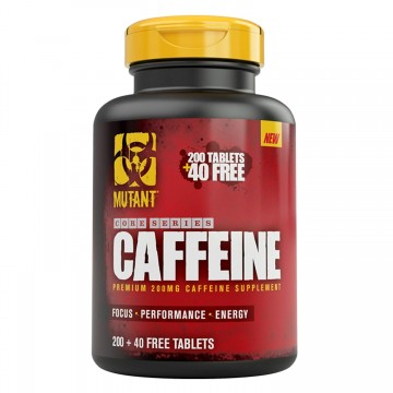 Mutant Core Caffeine 240 Tabs