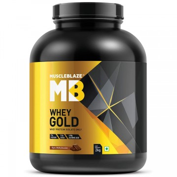 MuscleBlaze Whey Gold Protein 2 kg
