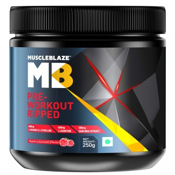 MuscleBlaze Pre-Workout Ripped-250g