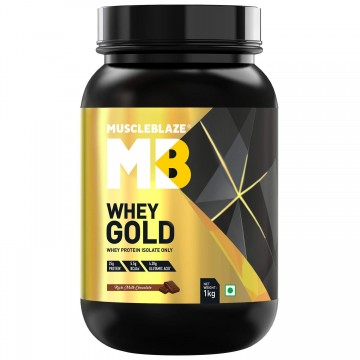 MuscleBlaze Whey Gold Protein 1 kg