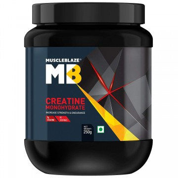 MuscleBlaze Creatine Monohydrate Powder 250 g