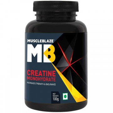 MuscleBlaze Creatine Monohydrate Powder 100 g